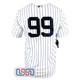 Aaron Judge #99 New York Yankees White Home Pinstripe Men's Nike Jersey NWT
