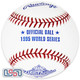 (12) 1995 World Series Official MLB Rawlings Baseball Braves Boxed - Dozen