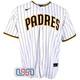 Fernando Tatis Jr. Autographed Full Name White Padres Nike MLB Jersey JSA Auth