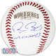 """Bruce Bochy Giants Signed """"WS Champs"""" 2014 World Series Game Baseball JSA Auth"""