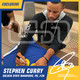 Stephen Curry Warriors Signed Autographed 16x20 Photograph Photo USA SM Auth #8