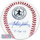 "Adrian Beltre Rangers Autographed ""7/30/17"" 3,000 Hit Club Baseball JSA Auth"