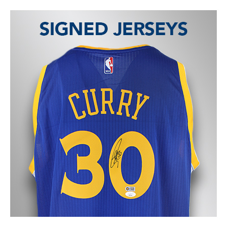 signed autographed jersey