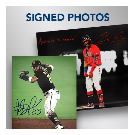 signed autographed photo