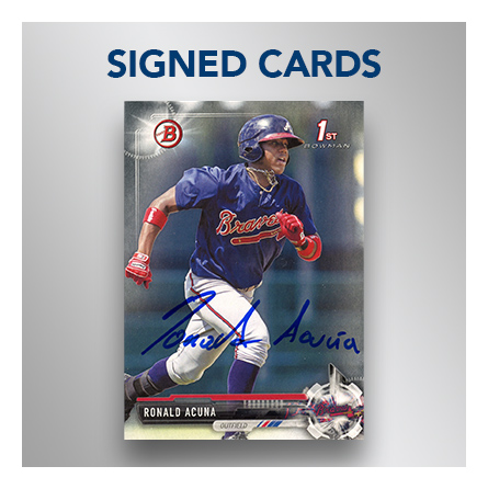 signed autographed card