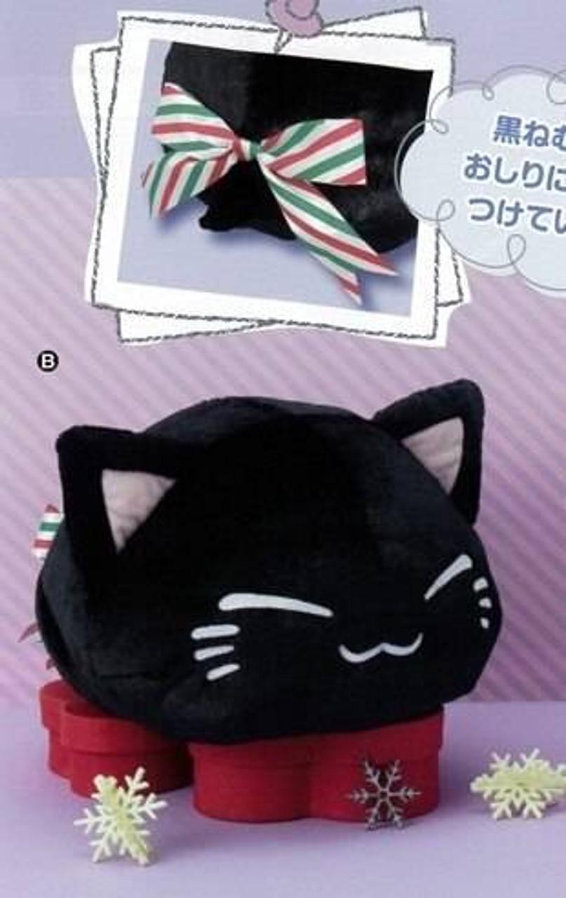 Furyu 2019-2 types Pink /& Coral Nemuneko 30cm Big Heart Plush