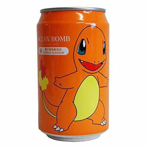 YHB Ocean YHB Ocean Bomb Pokemon Charmander Orange Flavour Can Drink 330ml
