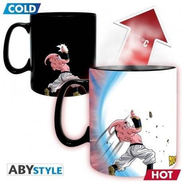 Abystyle Officially Licensed Dragon Ball Z Goku Majin Buu Heat Changing Mug 460ml