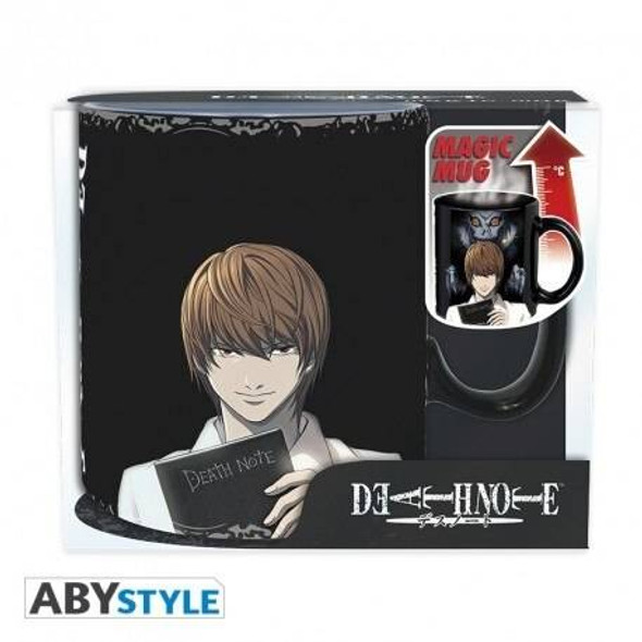 Abystyle Officially Licensed Death Note L Kira Heat Changing Mug 460ml