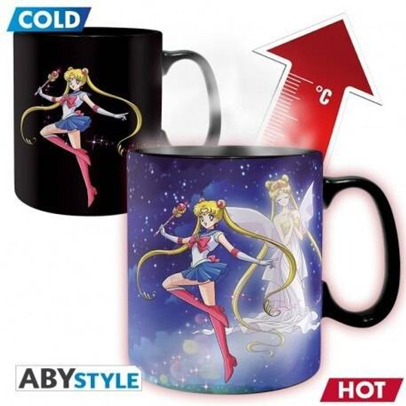 Abystyle Officially Licensed Sailor Moon Changing Mug 460ml