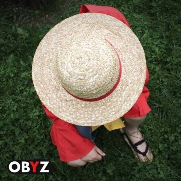 Abystyle Officially Licensed One Piece Luffy Cosplay Straw Hat