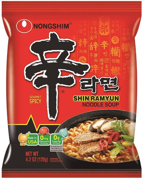 Nong Shim Nongshim Shin Ramyun Instant Spicy Ramen Noodle