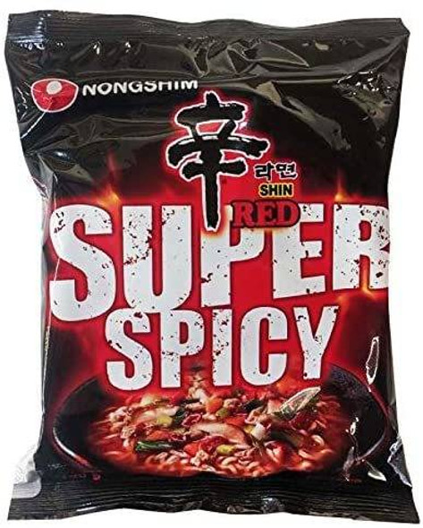 Nong Shim NongShim Shin Ramyun Red Hot Spicy Instant Ramen Noodles 120 g