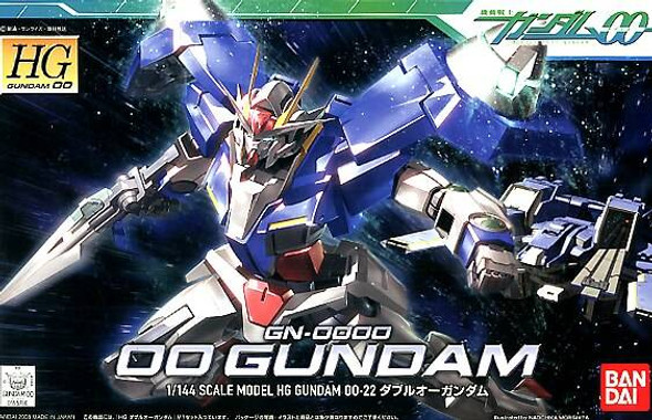 Bandai Bandai Hobby HG High Grade 1/144 00 Gundam Double Zero