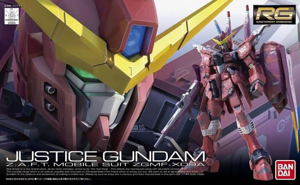 Bandai Bandai Hobby Real Grade RG ZGMF-X09A Justice Gundam