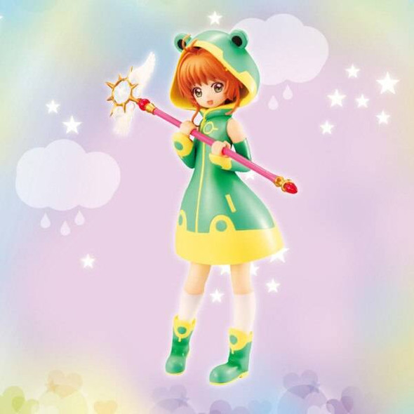 Furyu FuRyu Cardcaptor Sakura Clear Card Figure Frog