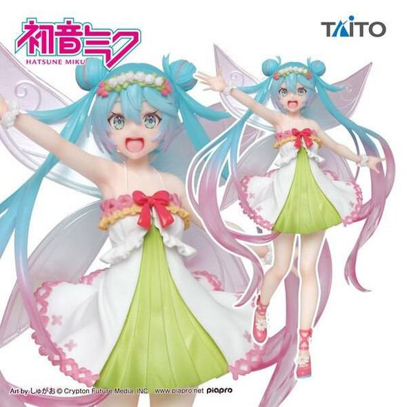 Taito Taito Vocaloid Miku Hatsune 3rd season Spring Ver Figure 18cm