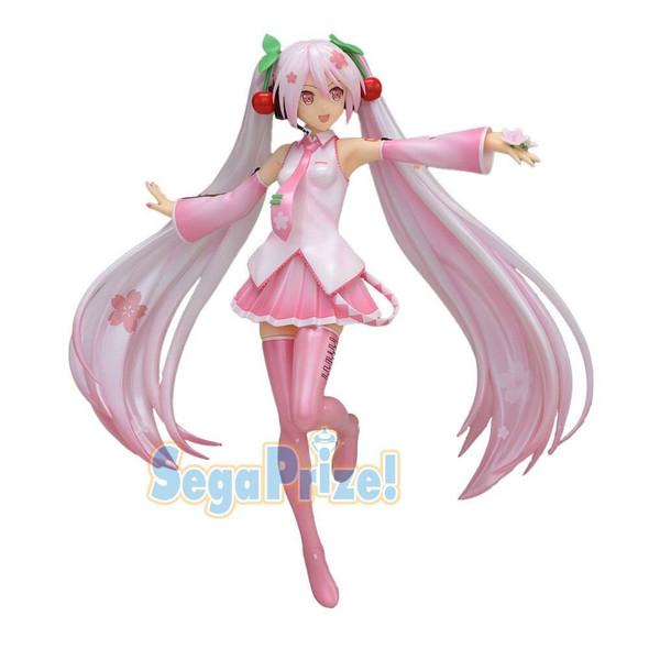 SEGA SEGA SPM Vocaloid Hatsune Miku Sakura Ver 2 Figure 23cm