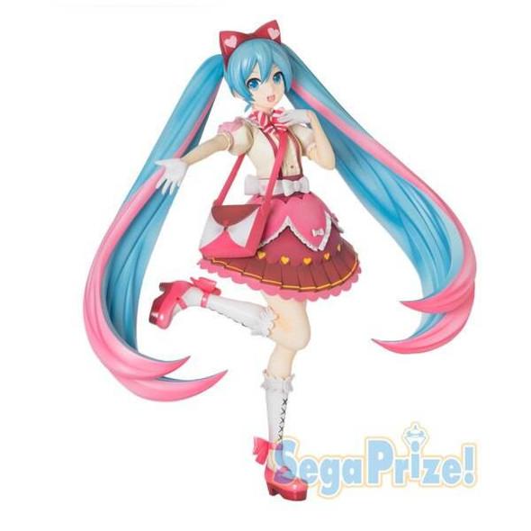 SEGA SEGA SPM Vocaloid Hatsune Miku Ribbon x Heart Figure 22cm