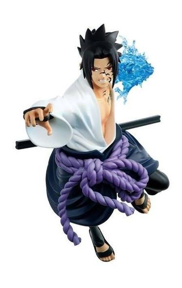 Banpresto Banpresto Vibration Stars Naruto Shippuden Sasuke Uchiha White Snake Figure 15cm