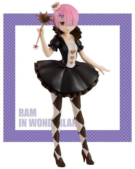Furyu Furyu SSS ReZero Starting Life in Another World Precious Ram In Wonderland, Antique Ver Figure 21cm