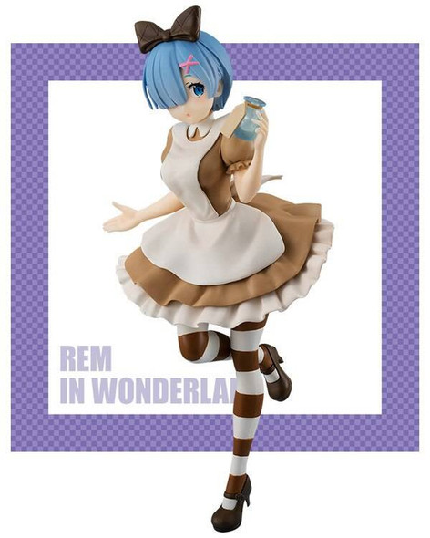 Furyu Furyu SSS ReZero Starting Life in Another World Precious Rem In Wonderland, Antique Ver Figure 21cm