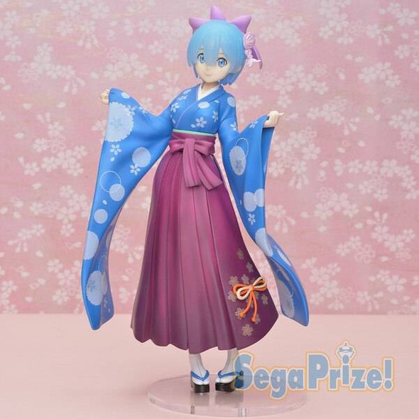 SEGA SEGA SPM ReZero Starting Life in Another World Precious Rem Kimono Figure 23cm