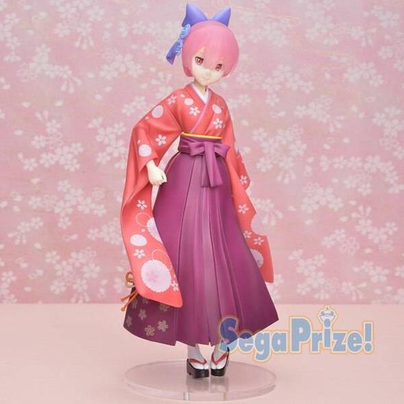 SEGA SEGA SPM ReZero Starting Life in Another World Precious Ram Kimono Figure 23cm
