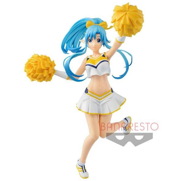 Banpresto Banpresto EXQ Sword Art Online Memory Defrag Asuna Hooray Love Cheers Figure 22cm