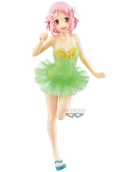 Banpresto Banpresto EXQ Sword Art Online Memory Defrag Lisbeth Swimsuit Figure 22cm