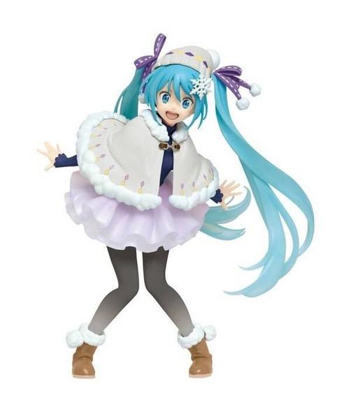 Taito Taito Vocaloid Hatsune Miku Winter Clothes Renewal Figure 18cm