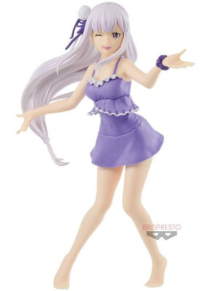 Banpresto Banpresto EXQ ReZero Starting Life in Another World Emilia Figure 22cm