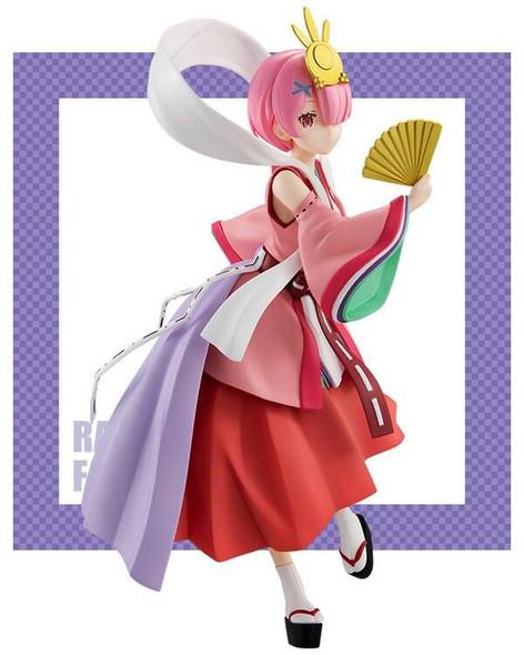 Furyu FuRyu ReZero Starting Life in Another World Ram Princess Kaguya Figure