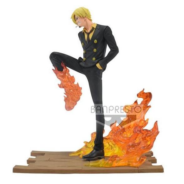Bandai Spirits Bandai Spirit One Piece Log File Selection Sanji Figure