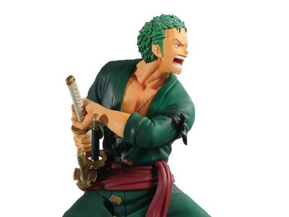 Banpresto Banpresto One Piece Log File Selection Vol.1 Zoro Figure