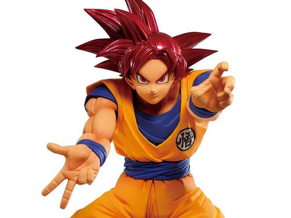 Bandai Spirits Banpresto Dragon Ball Super Maximatic Super Saiyan God Goku Figure