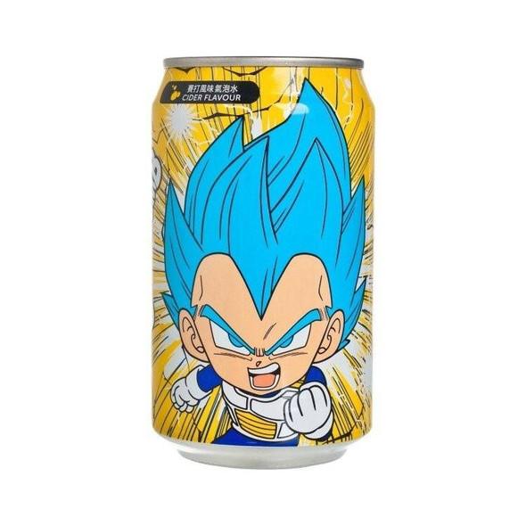 YHB Ocean Dragon Ball Z Super Saiyan God Vegeta Cider Soda drink 330ml