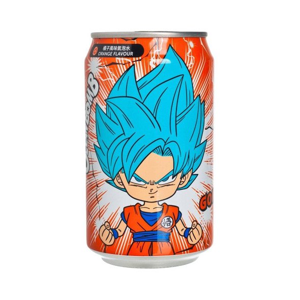 YHB Ocean Dragon Ball Z Super Saiyan God Goku Orange Soda drink 330ml