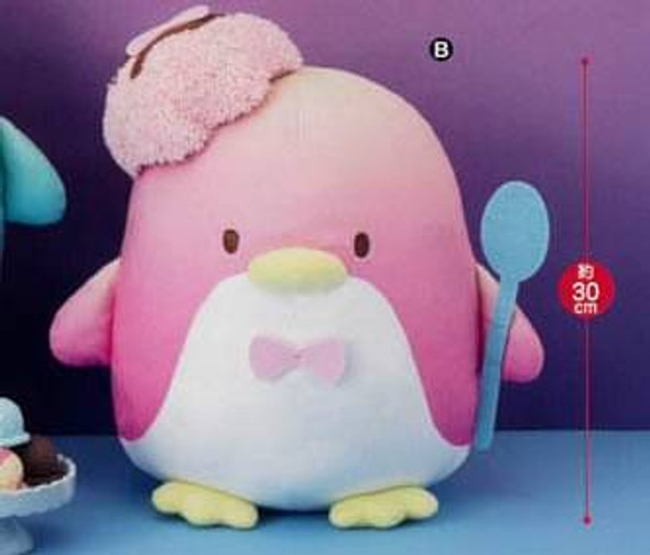 Furyu FuRyu Tuxedosam Sams Chocolate Ice Cream Pink Big Plush