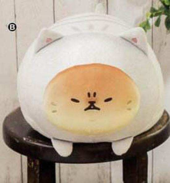 Furyu FuRyu Sanrio Yeast Ken Bread Dog Neko wo Kaburu white Big Plush