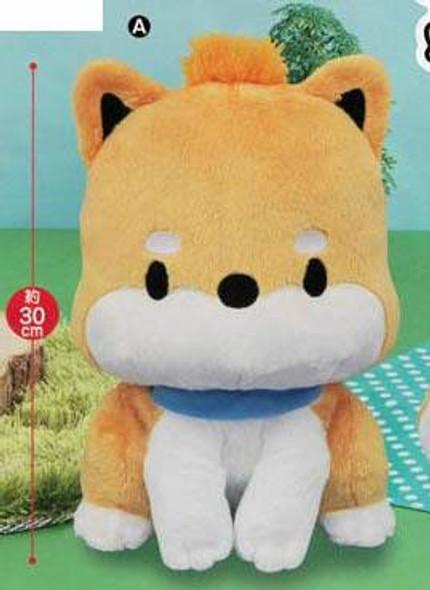 Furyu FuRyu Shiba Inu Maru - Maru Sitting Big Plush