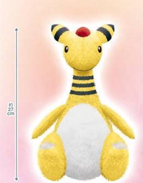Banpresto Banpresto Pokemon Hokkori Iyasare Ampharos Big Plush