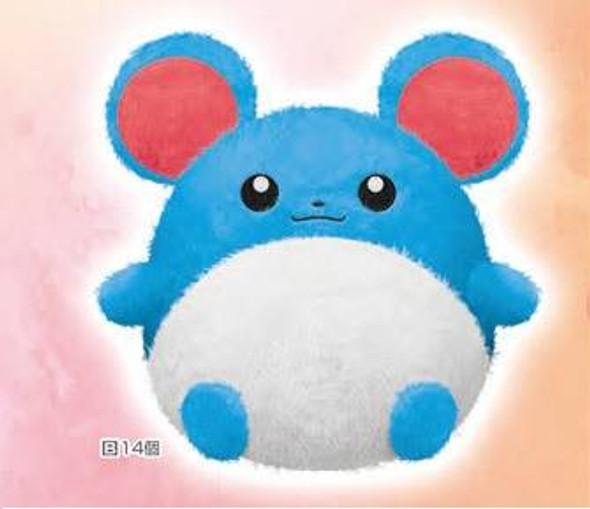 Banpresto Banpresto Pokemon Hokkori Iyasare Marill Big Plush
