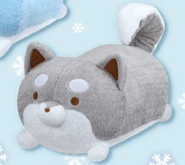 Taito Taito Tarushiba Mega Size Kuttari Winter Grey Plush