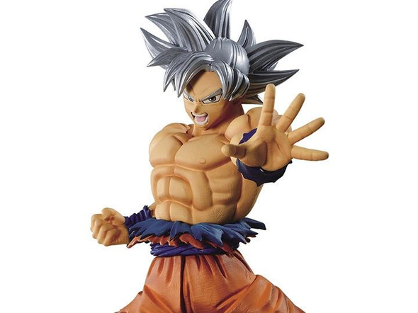 Bandai Spirits Banpresto Dragon Ball Super Warriors Battle Retsuden II Son Goku Ultra Instinct Vol 1 Figure
