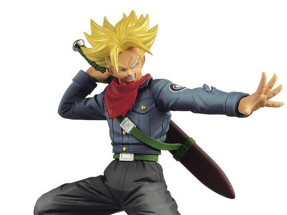 Bandai Spirits Banpresto Dragon Ball Super Warriors Battle Retsuden II Super Saiyan Future Trunks Vol 2 Figure