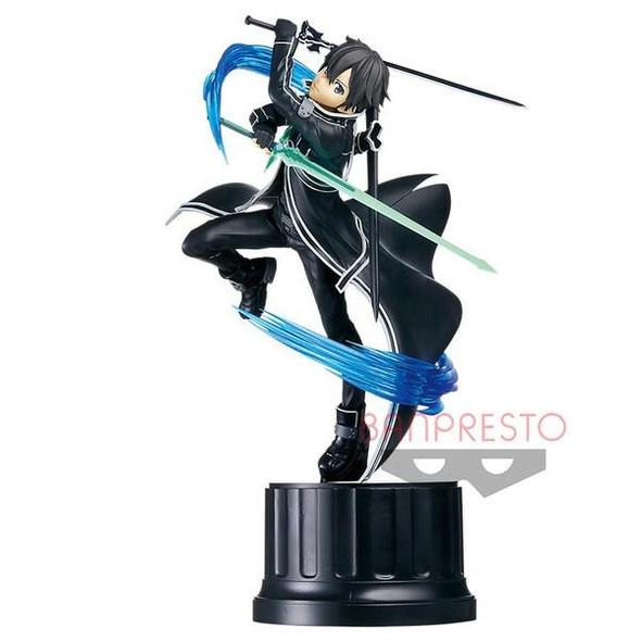 Bandai Spirits Banpresto Sword Art Online Integral Factor Espresto est Extra Motions Kirito Black Swordsman Figure