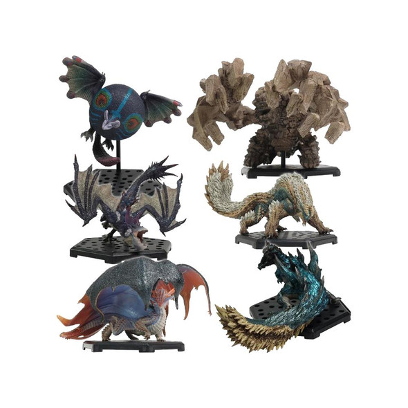 Bandai Tamashii Capcom Monster Hunter Standard Model Plus Vol 17 Figure Full Set