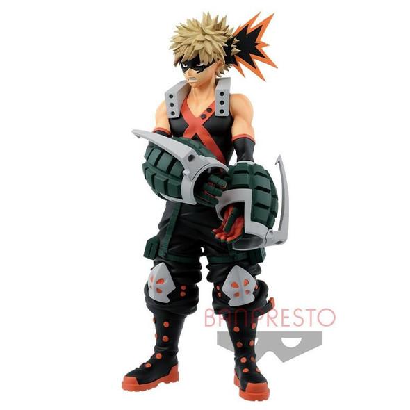 Bandai Spirits Banpresto Boku No My Hero Academia Age of Heroes Bakugo Katsuki Figure