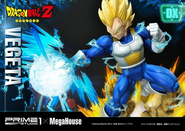 Prime 1 Studio Prime 1 x Megahouse Dragon Ball Z Statue 1/4 Super Saiyan Vegeta Deluxe 64 cm